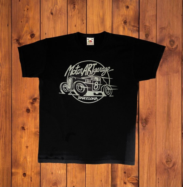 Camiseta infantil Motorartgarage