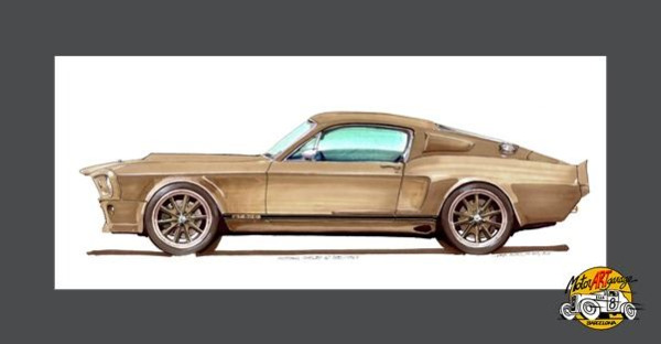 Muscle Cars artworks gallery