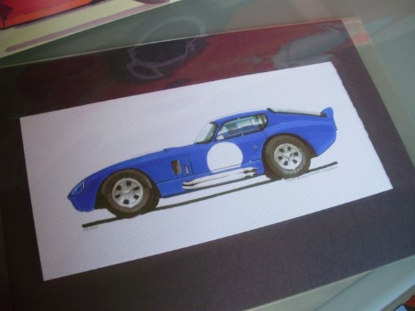 Print 35x20 Shelby cars - Gallery